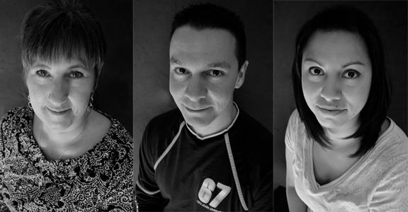 Toni Wolff, Alfonso Lopez, Desiree Lopez photo by Stephanie (Rhoades) Kelley
